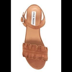Steve Madden Cognac Brett Sandals (6)